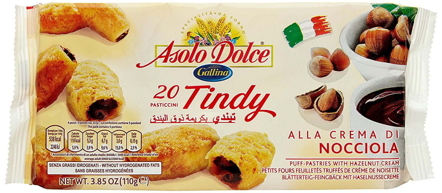 ASOLO DOLCE TINDY NOCC.GR100 PASTICCINI
