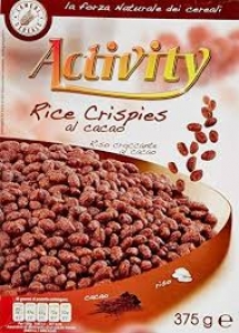 ACTIVITY RICE CRISPIES CACAO GR 375