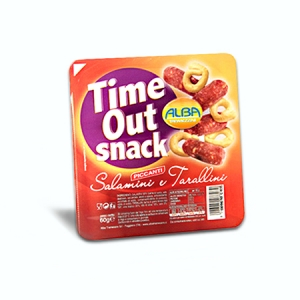 TIME OUT SNACK SALAM DOLCI/TARAL GR 60