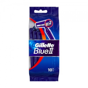 GILLETTE BLUE II X10 PZ