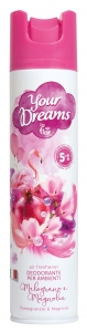 AIR FLOR YOUR DREAMS DEODORANTE AMBIENTE MELOGRANO E MAGNOLIA ML 300
